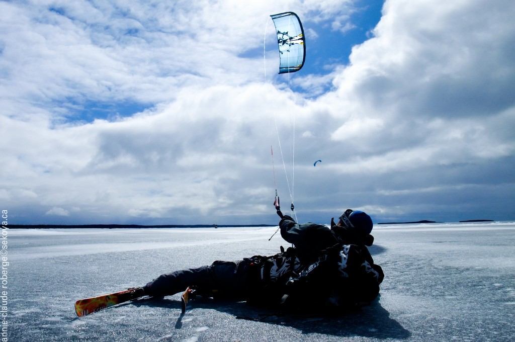 ©acroberge-kite surf- mistassini lake- baie-james